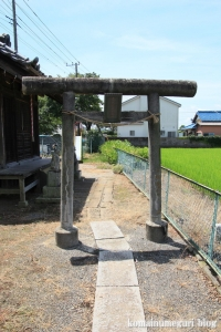 稲荷神社(川越市鴨田)4