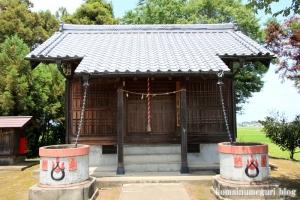 陸道稲荷神社(川越市萱沼)3