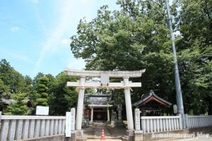 氷川神社(川越市古谷郷上組)1
