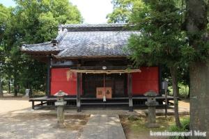 氷川神社(川越市古谷郷上組)8