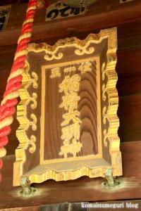 稲荷社(川越市萱沼)7
