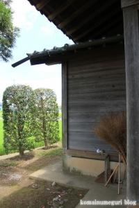 稲荷社(川越市萱沼)9