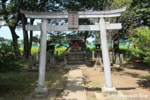 神明神社(川越市萱沼)2