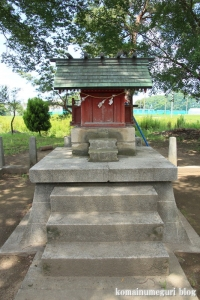 神明神社(川越市萱沼)4