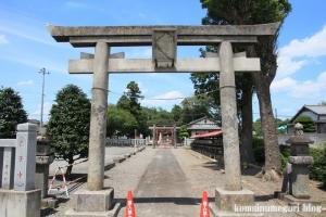 古尾谷八幡神社(川越市古谷本郷下組)2