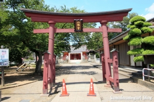 古尾谷八幡神社(川越市古谷本郷下組)7