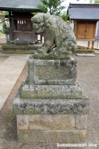 氷川神社(川越市古谷本郷上組)10