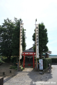 上サ稲荷神社(さいたま市西区西遊馬)1
