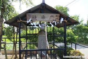 庚申社(さいたま市西区西遊馬)2