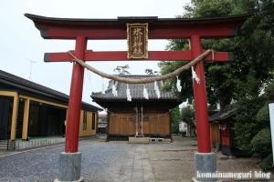 土屋氷川神社(さいたま市西区土屋)6
