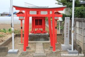 榎木稲荷神社(さいたま市西区西遊馬)1