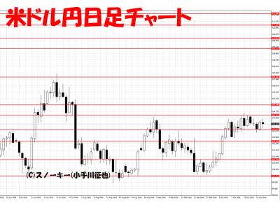 20161022米ドル円日足