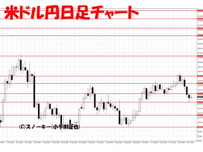 20161105米ドル円日足
