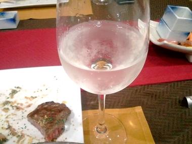 まさかのワイングラスw