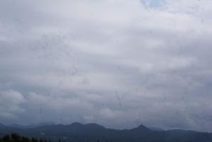 161026圃場から見える山々