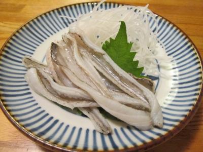 タチウオの炙り刺身2