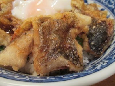 ドンコの唐揚丼アップ2