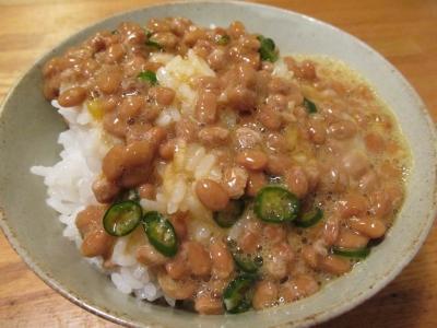 納豆卵かけご飯1