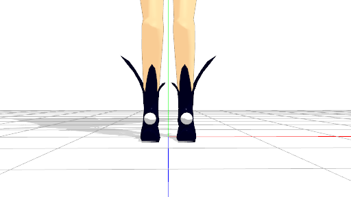 2016/05/14 MMDかずみモデル ブーツ修正前