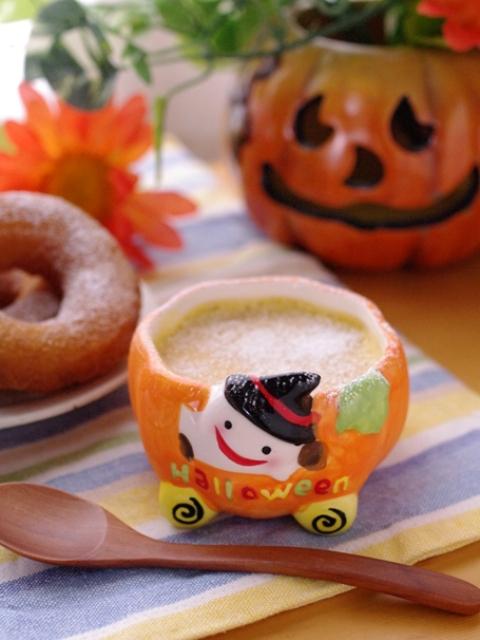 かぼちゃの豆乳プリン06a
