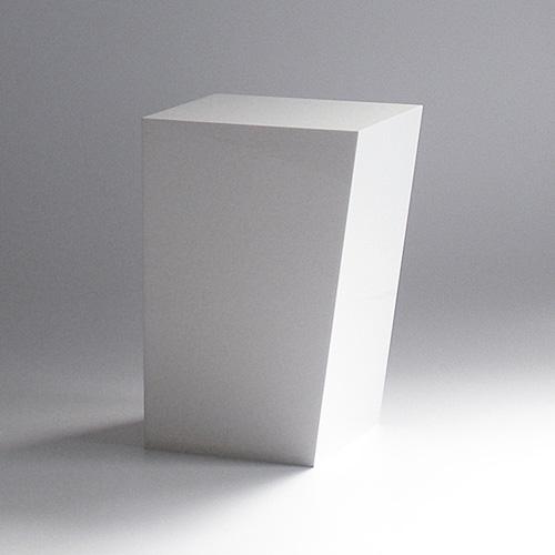 IDIOM DUST BOX M  ホワイト Shunsuke Terada(寺田 俊介)AIR FRAME(エアフレーム)