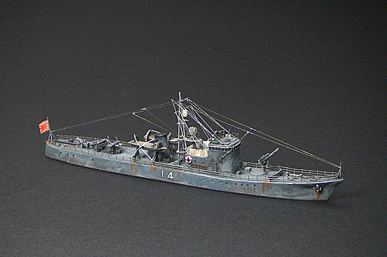 第14号駆潜艇 - 模型工作隊 Model corps