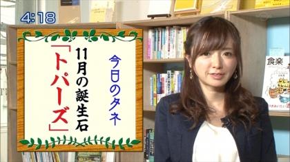 161102朝ダネ 紺野あさ美 (4)