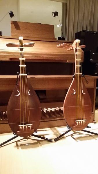 20161013初の琵琶