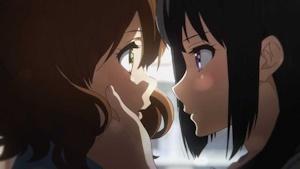 久美子と麗奈の百合シーン