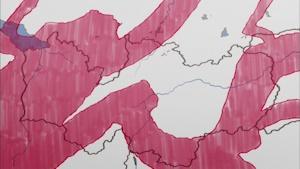 レイラインの地図