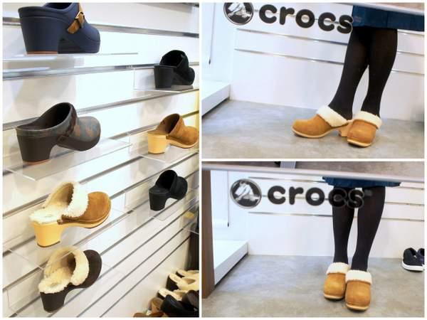 crocs sarah luxe lined clog  サラ ラックス ラインド クロッグ