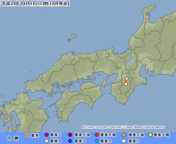 奈良と徳島で地震起きてるけど、これ九州から四国に拡大してきたの?
