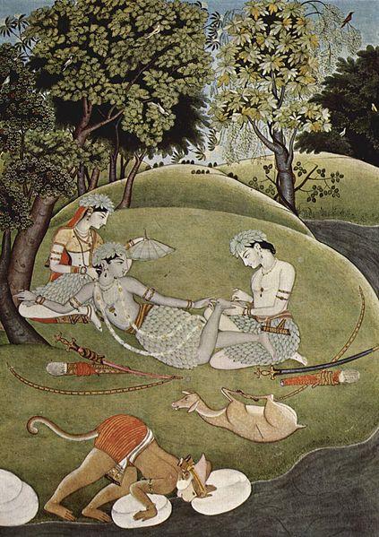 【神話】インド・ラーマーヤナに記されている「魔法の薬草」を探せ「ヒマラヤ山脈にあり、暗闇で光る」…神ハヌマーンは発見できず、山ごと持ち帰った