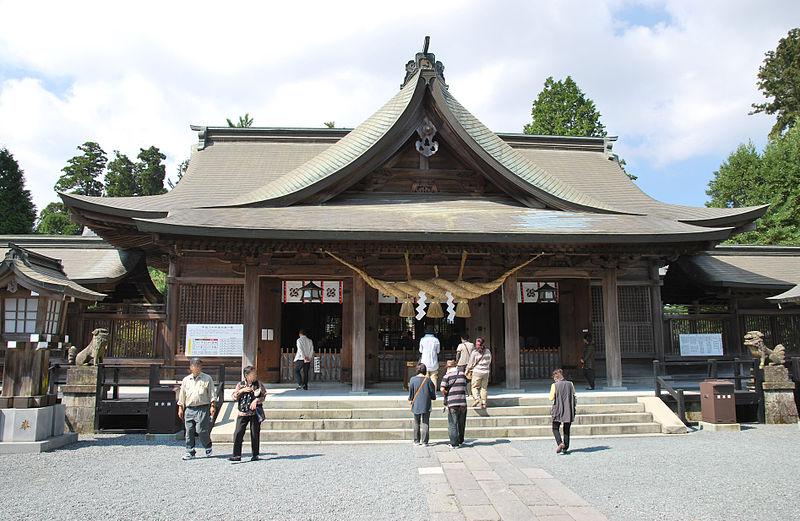 【阿蘇山結界】 重要文化財「阿蘇神社」(肥後国一宮)の楼門が倒壊
