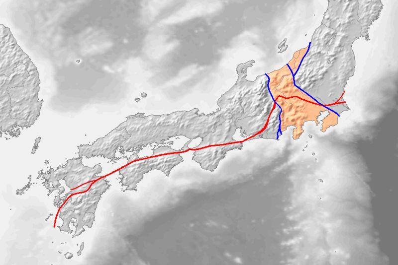 【政府】国内最大の活断層である中央構造線で「M8クラス以上」の巨大地震が今後30年以内に起きる可能性がある