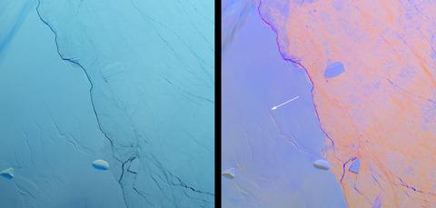 【ラーセン棚氷】南極で4番目に大きい氷に「亀裂」が広がる…近年、相次いで崩壊