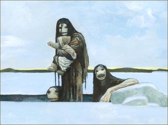 【ムー速報】謎の海洋生物とされ、子供をさらうアラスカの人魚「クァルパリク」の正体とは...?