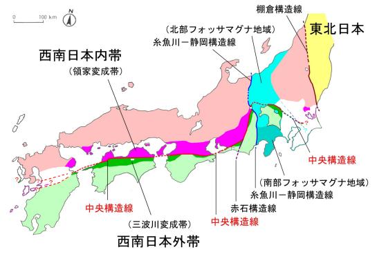 【中央構造線】今回の熊本震度7の地震が「南海トラフ」の序章らしい…九州で大地震 → 南海トラフへのサイクルが早まる?