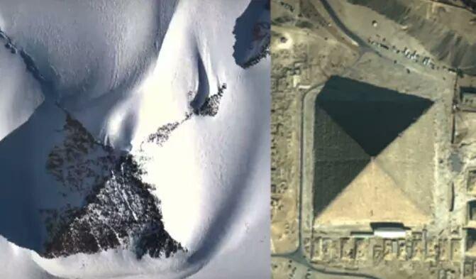 南極で古代ピラミッドと思われる物体3つを発見…研究者「山ではなく人工構造物だ。後日、調査する予定」