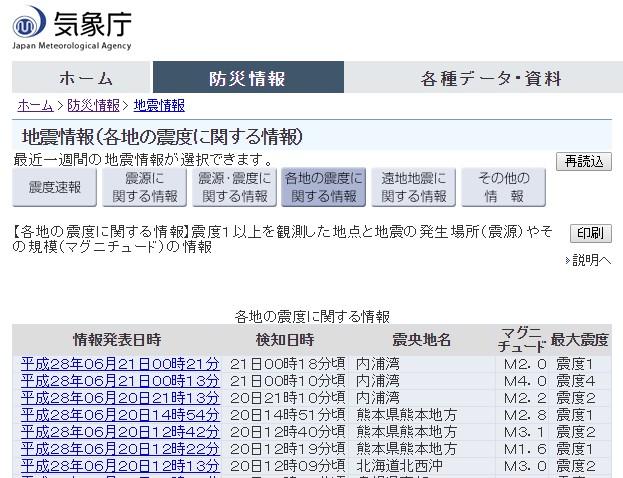 北海道・内浦湾で震度4の地震発生 M4.0 深さは約10km