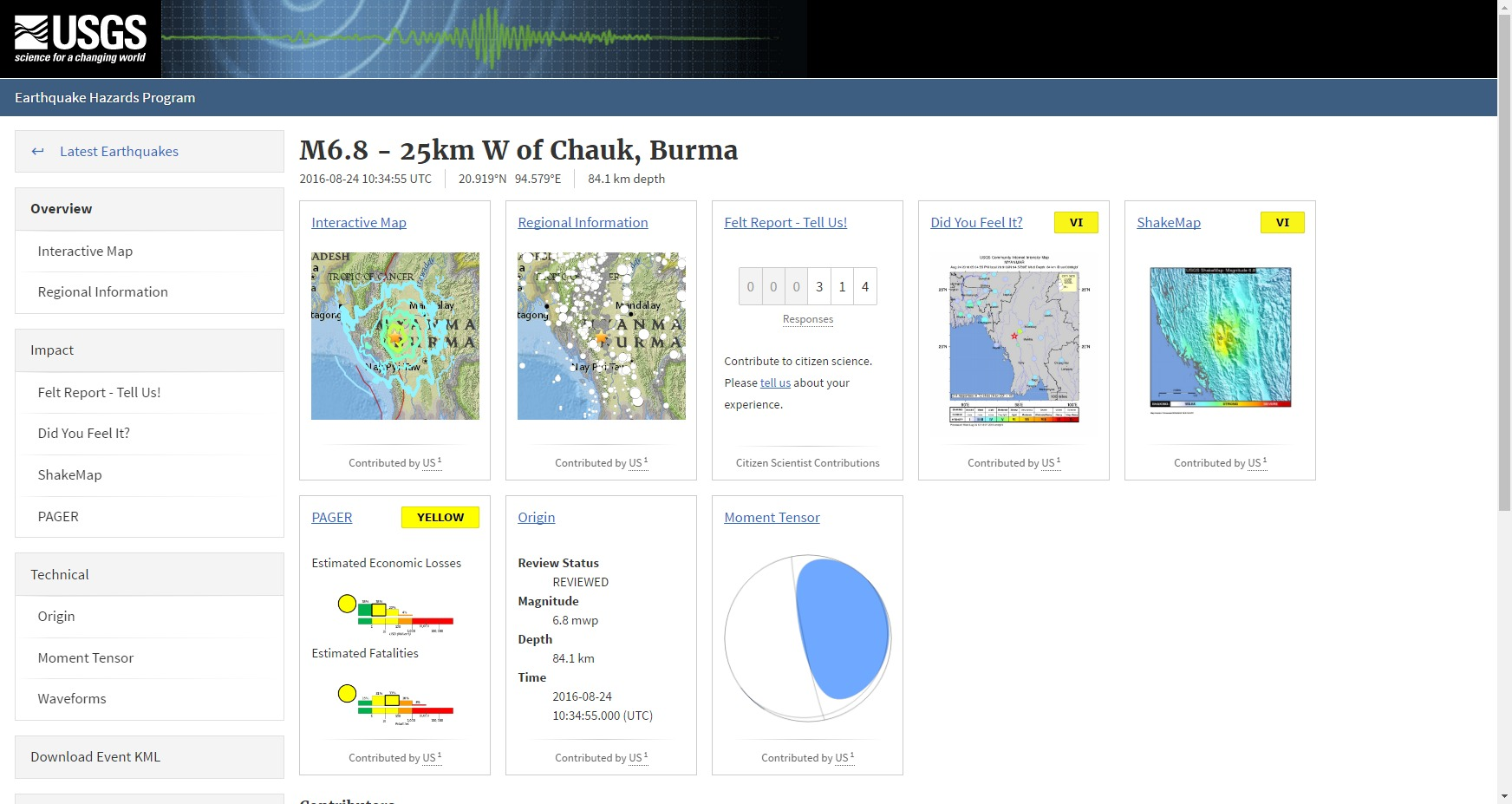 ミャンマー中部で「M6.8」の地震が発生…インドやタイでも揺れを観測