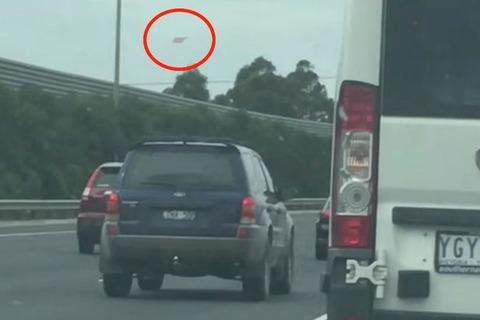 オーストラリアの上空でダイアモンドの形をした「UFO」が出現…動画で撮影される!