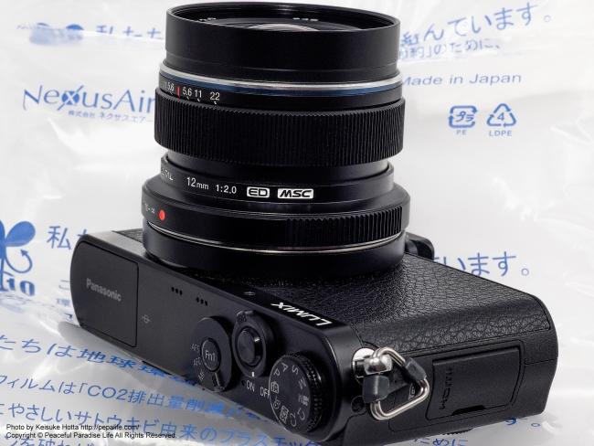 M.ZUIKO DIGITAL ED 12mm F2.0  + LUMIX DMC-GM1