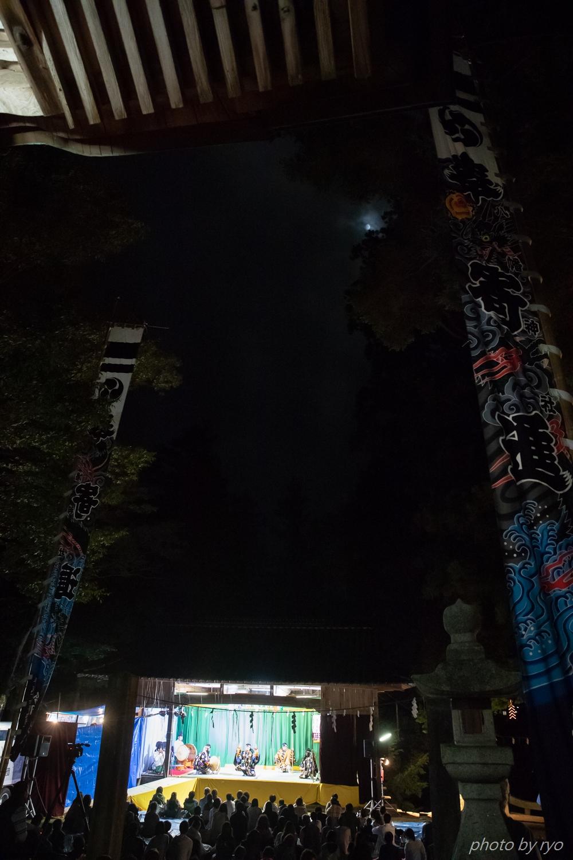 2018夜神楽_下津田八幡神社_3