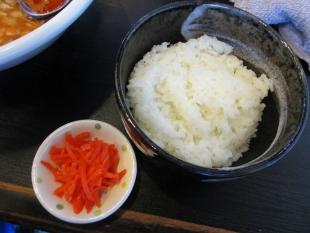 ゆず 牛ネギ担々麺 ライス