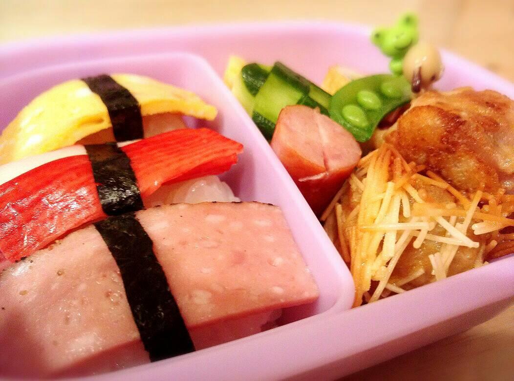 幼稚園のお弁当♪