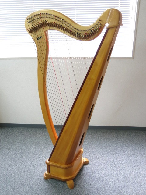 Aoyama 青山ハープ 36弦 ノンペダルハープ