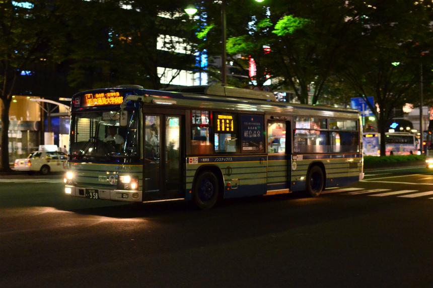 仙台駅前で見かけた仙台市営バス その1