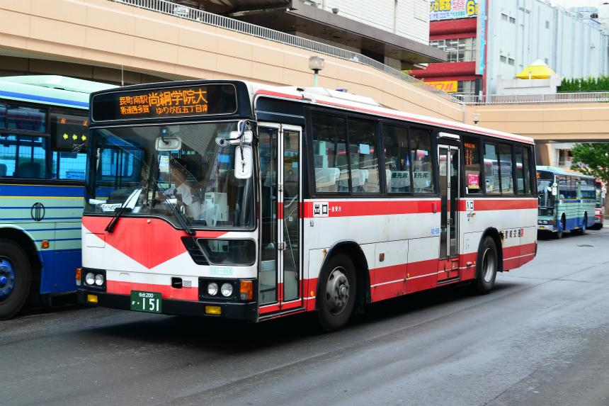 仙台駅前で見かけた宮城交通