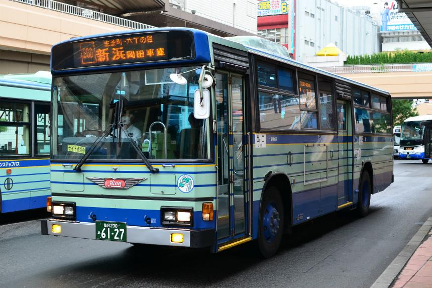 仙台駅前で見かけた仙台市営バス その2